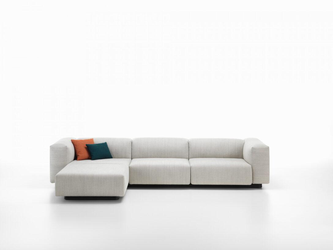 Large Size of Vitra Sofa Soft Modular 3 Sitzer Mit Chaise Longue Einrichten Blaues Led Weiß Grau Für Esstisch Schillig Weiches Günstiges Kleines Rundes Relaxfunktion Aus Sofa Vitra Sofa