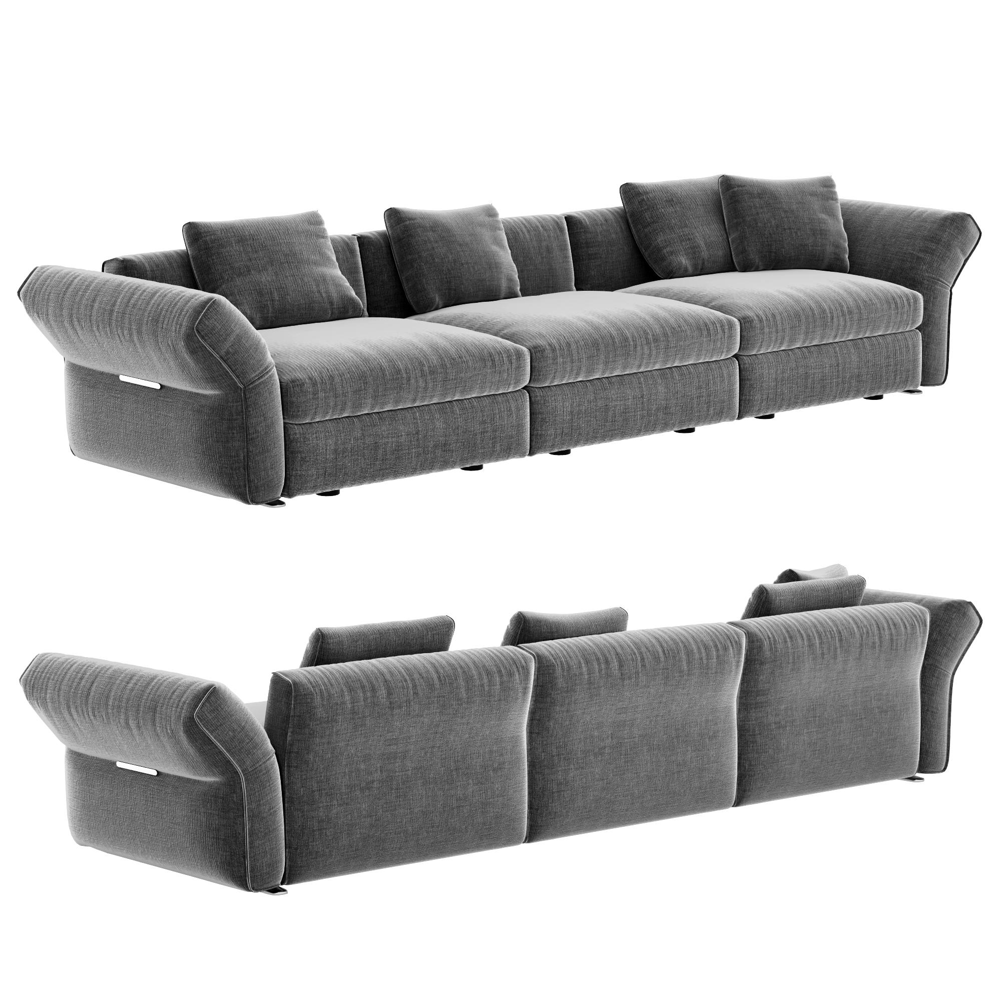 Full Size of Flexform Sofa Furniture Sale Uk Groundpiece Preis Bed Eden Sleeper Newbridge 3d Modell Turbosquid 1309382 Chippendale Mondo Erpo Hersteller Modernes Mit Led Sofa Flexform Sofa