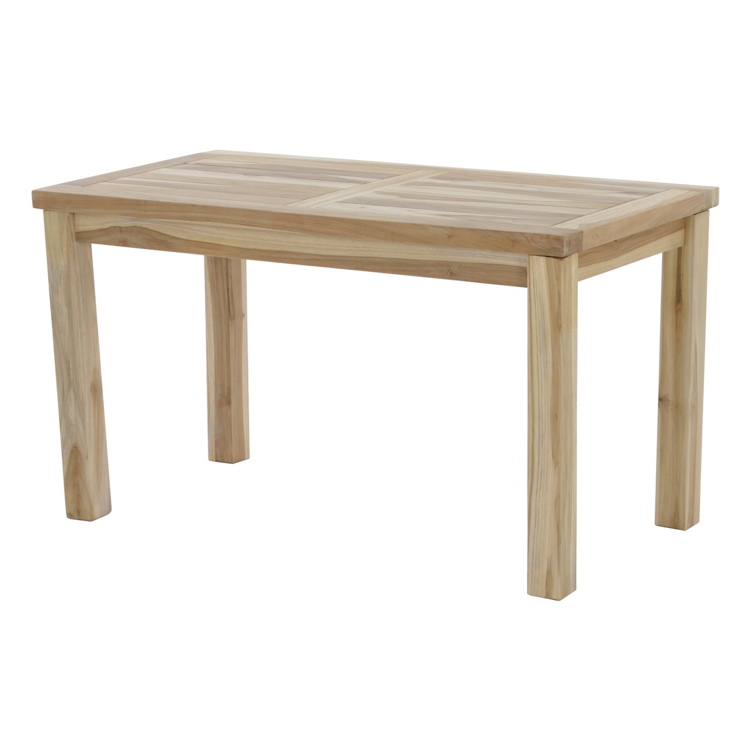 Full Size of Garten Tisch Beistelltisch Teak Holz 45x90 Cm Maco Shop Waschtische Bad Feuerstelle Hängesessel Mein Schöner Abo Esstisch Rustikal Spaten Kaufen Quadratisch Garten Garten Tisch
