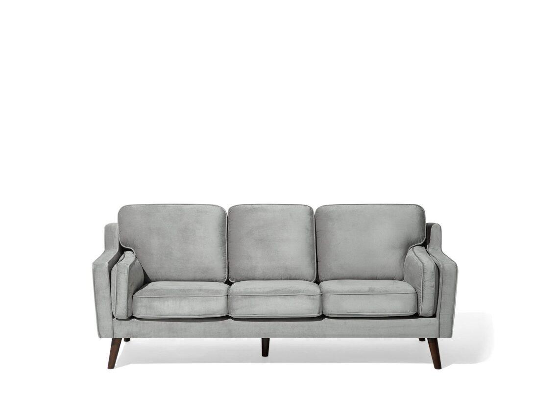 Large Size of Modernes Sofa Aus Samtstoff In Hellgrau Couch 3er Sitzer Lokka Ebay 2 Mit Schlaffunktion Home Affaire Big Landhausstil Stoff Husse Elektrisch Schilling Sofa Modernes Sofa