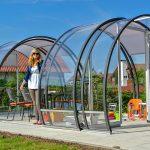 Gartenüberdachung Terrassenberdachungen Von Vroka Made In Germany Seit 1964 Garten Gartenüberdachung