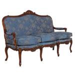 Canape Sofa Louis Xv Canapes With Cushion Jansen Furniture Weiches 3 Teilig L Mit Schlaffunktion Abnehmbaren Bezug Xxl U Form Kinderzimmer Lounge Garten 2 Sofa Canape Sofa