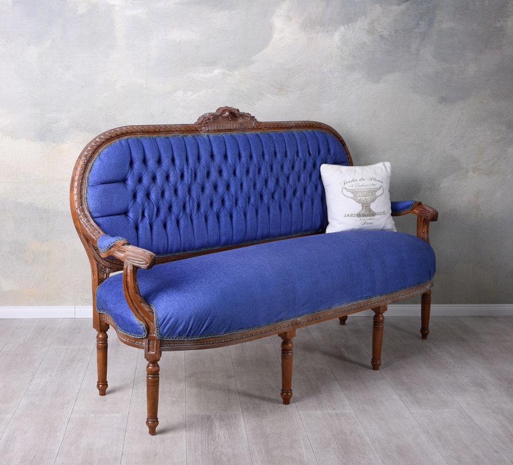 Full Size of Barock Sofa Dauerschläfer Mit Abnehmbaren Bezug In L Form U Xxl Halbrund Comfortmaster Modulares 3 Sitzer Relaxfunktion Samt Riess Ambiente Günstig Kaufen Sofa Barock Sofa