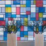 Klebefolie Für Fenster Fenster Klebefolie Für Fenster Bunte Fensterfolie Mondriaan Glasdekorfolie Selbstklebend Sichtschutz Gardinen Spiegelschrank Bad Rollos Mit Eingebauten Rolladen