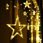 Weihnachtsbeleuchtung Fenster Mit Kabel Innen Stern Amazon Befestigen Bunt Hornbach Led Lichtervorhang Lichterkette Kugeln Fensterdeko Einbau Kunststoff Fenster Weihnachtsbeleuchtung Fenster