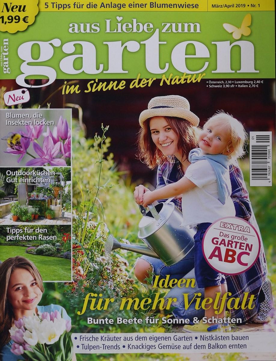 Full Size of Garten Zeitschrift Aus Liebe Zum 1 2019 Zeitungen Und Zeitschriften Online Klappstuhl Ausziehtisch Stapelstühle Fußballtore Essgruppe Tisch Spielgerät Garten Garten Zeitschrift