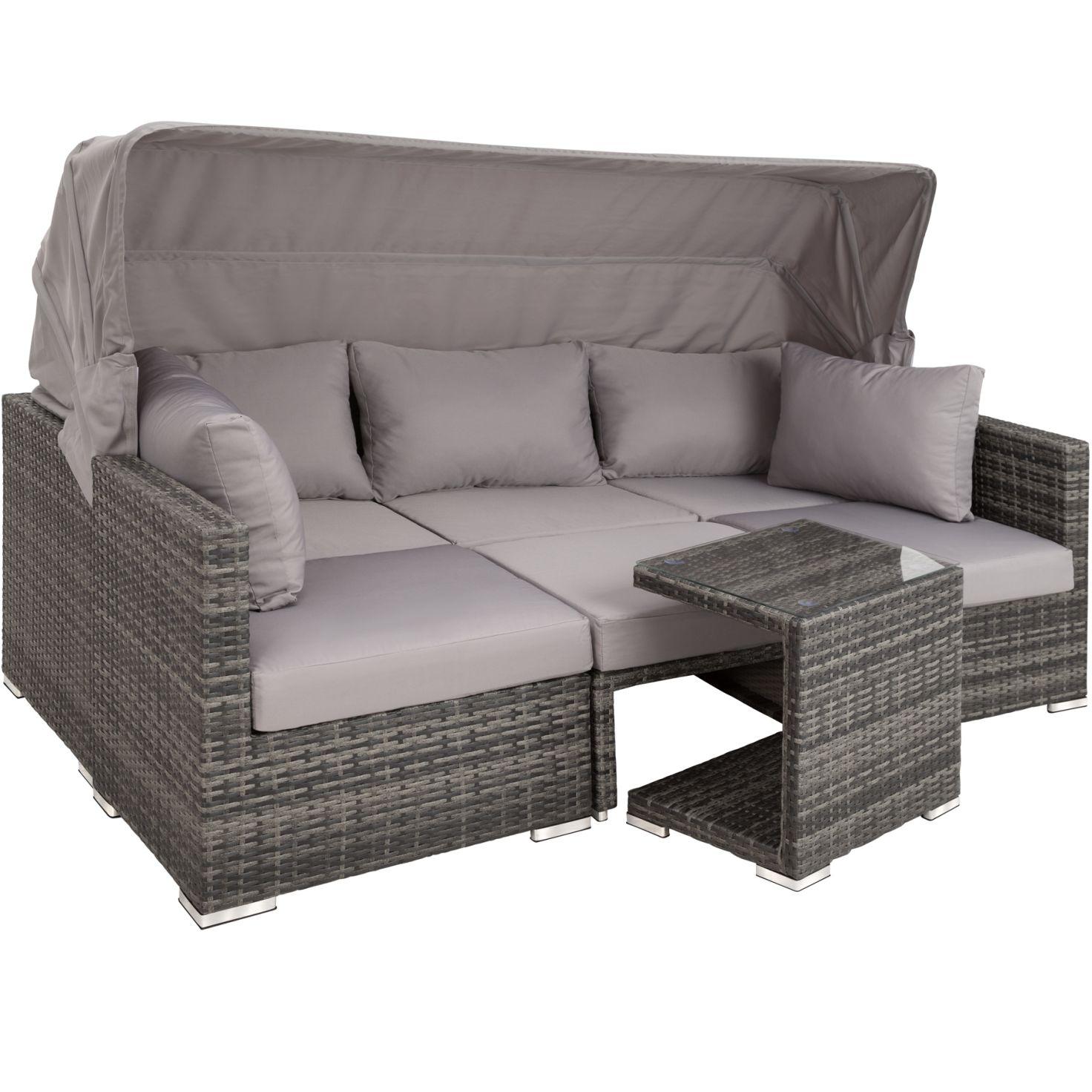 Full Size of Polyrattan Sofa Lounge Outdoor 2 Sitzer Balkon Grau Set Garden Rattan Ausziehbar Couch Tchibo 2 Sitzer Gartensofa Mit Aluminiumgestell San Marino Gnstig Online Sofa Polyrattan Sofa