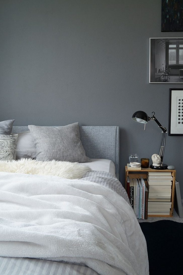 Medium Size of Graues Bett Ikea Bettlaken Waschen Dunkel Samtsofa Passende Wandfarbe 180x200 120x200 140x200 160x200 Welche Kombinieren Herbstschlafzimmer In Grautnen Graue Bett Graues Bett