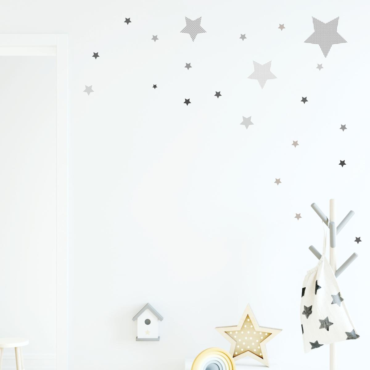 Full Size of Wandaufkleber Kinderzimmer Wandsticker Stern Sternen Set Grau Mit Mustern Regal Regale Weiß Sofa Kinderzimmer Wandaufkleber Kinderzimmer