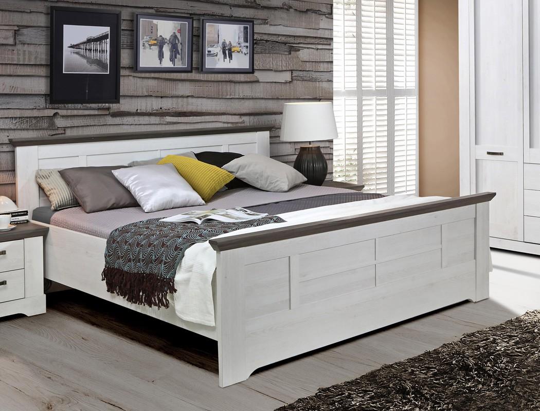 Full Size of Bett Landhaus 180x200 Cm Wei Grau Schneeeiche Doppelbett Komfortbett Betten Landhausstil Hasena Kleinkind Luxus 200x220 Schlafzimmer Hohes Paradies Küche Bett Bett Landhaus