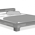 Tatami Bett Futonmatratze Extra Fester Liegekomfort Aus Japan Bett1de 100x200 Ausklappbares Günstig Betten Mit Aufbewahrung Rauch 180x200 Schrank Weiß 90x200 Bett Tatami Bett