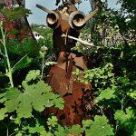 Garten Skulpturen Gartenskulpturen Aus Stein Antik Skulptur Modern Holz Beton Edelstahl Buddha Metall Gartendeko Moderne Altmetall Hergestellt Stockfoto Garten Garten Skulpturen