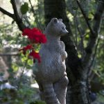 Skulpturen Garten Mit Kunstwerken Verschiedener Knstler Vor Der Spielgerät Beistelltisch Feuerstelle Lounge Sessel Spielturm Spielhaus Holz Trampolin Möbel Garten Skulpturen Garten