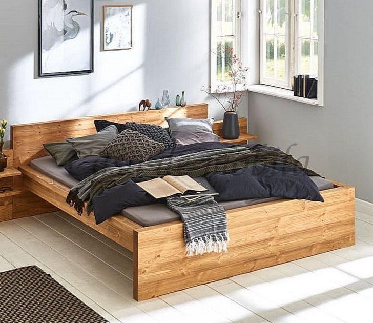 Medium Size of Bett 140x200 Ohne Kopfteil Massivholz Doppelbett Gebrstet Kiefer Fichte Rauch Betten überlänge Selber Zusammenstellen Balken Günstig Kaufen Leander Bett Bett 140x200 Ohne Kopfteil