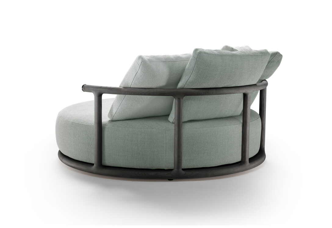 Large Size of Sofa Rund Arundel Bed Dreamworks Couch Klein Design Rundecke Leder Oval Med Runde Former Form Icaro Von Flexform Stylepark Petrol Big Mit Schlaffunktion Sofa Sofa Rund