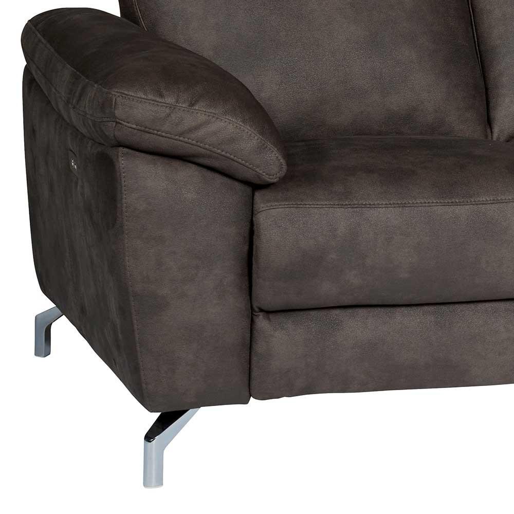 Full Size of Sofa Mit Relaxfunktion Braunes 2er 162x101x96 Cm Extrados U Form Hannover Riess Ambiente Polster Flexform Schreibtisch Regal Bett Bettkasten 140x200 Sofa Sofa Mit Relaxfunktion