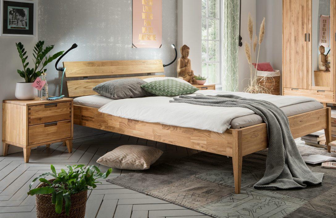 Large Size of Bett Mido Von Skalik Eiche Gelt Natur Mbel Letz Ihr Online Shop Holzhäuser Garten Holzregal Badezimmer Esstisch Massivholz Ausziehbar Betten Kaufen 140x200 Bett Betten Holz