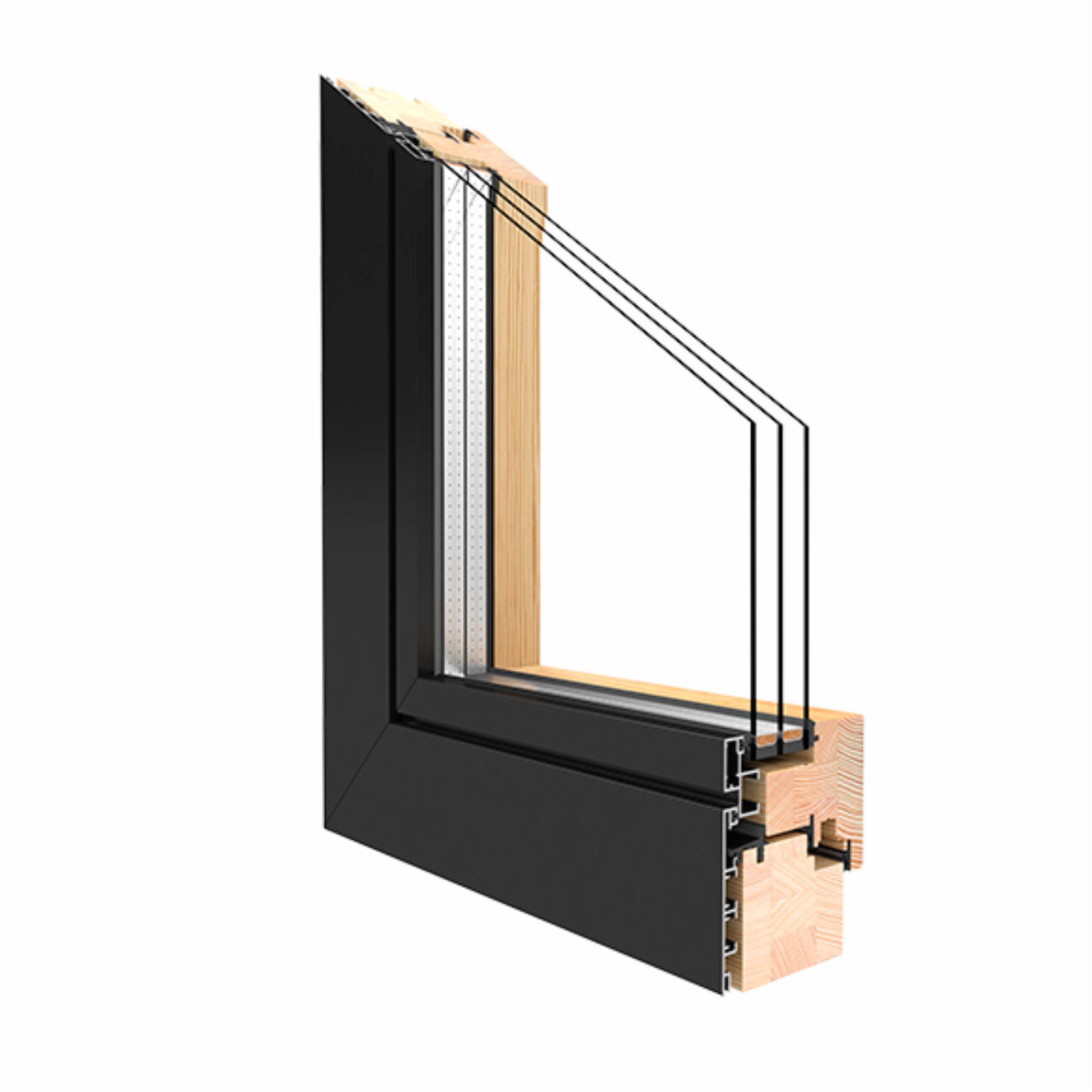 Full Size of Alu Fenster Holz Druteduoline 88 Kiefer Alle Gren Kunststoff Jalousie Innen Mit Lüftung Herne Dreifachverglasung Sichtschutzfolie Kbe Für Eingebauten Fenster Alu Fenster