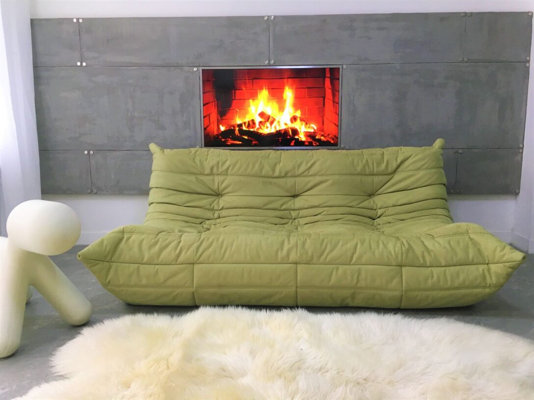 Large Size of Ligne Roset Sofa Togo Ebay For Sale Pumpkin Uk Second Hand Bed Review Cleaning Used Furniture Ireland Exclusif Multy Gebraucht Prado Green Three Seater Michel Sofa Ligne Roset Sofa