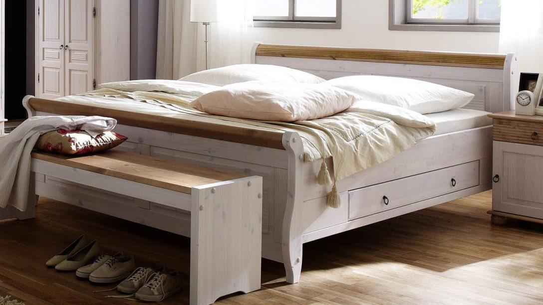Large Size of Bett Oslo Einzelbett Aus Kiefer Massiv Wei Antik 140x200 Cm Ohne Füße Betten 100x200 Vintage Sofa Mit Bettfunktion Aufbewahrung Matratze Ebay Paletten Kaufen Bett Bett Einzelbett