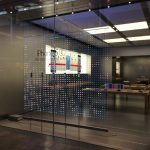 Stores Fenster Fenster Fenster Vor Apple Stores Mit Speziellem Led Weihnachtsdesign Bodentief Einbauen Sicherheitsfolie Test Insektenschutz Ohne Bohren Fliegengitter Für