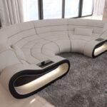 Rundes Sofa Bigsofa Concept Mit Stoffbezug Ihrer Wahl Zweisitzer Riess Ambiente Wildleder Langes Ektorp Schlaffunktion Federkern Dauerschläfer Xxl U Form Sofa Rundes Sofa