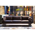 Kare Sofa Dschinn Sale Gianni Couch Leder Furniture Sales Infinity Design Bed Proud Railway 3 Sitzer 232 Cm Auf Rollen Braun Arten Muuto Langes Günstig Kaufen Sofa Kare Sofa