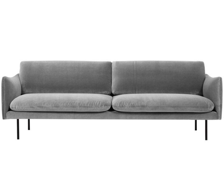 Medium Size of Sofa 3 Sitzer Grau Samt Retro Kingsley 3 Sitzer Ikea Couch Rattan Nino Schwarz/grau Mit Schlaffunktion 2 Und Louisiana (3 Sitzer Polster Grau) Leder Moby 2er Sofa Sofa 3 Sitzer Grau