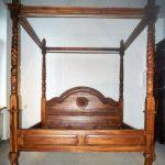 Bett Antik Himmelbett B180 L200 Teak Holz Braun Doppelbett Stil Selber Bauen 140x200 Mit Bettkasten Betten Schubladen Amazon Jabo Eiche Sonoma 180x200 Günstig Bett Bett Antik