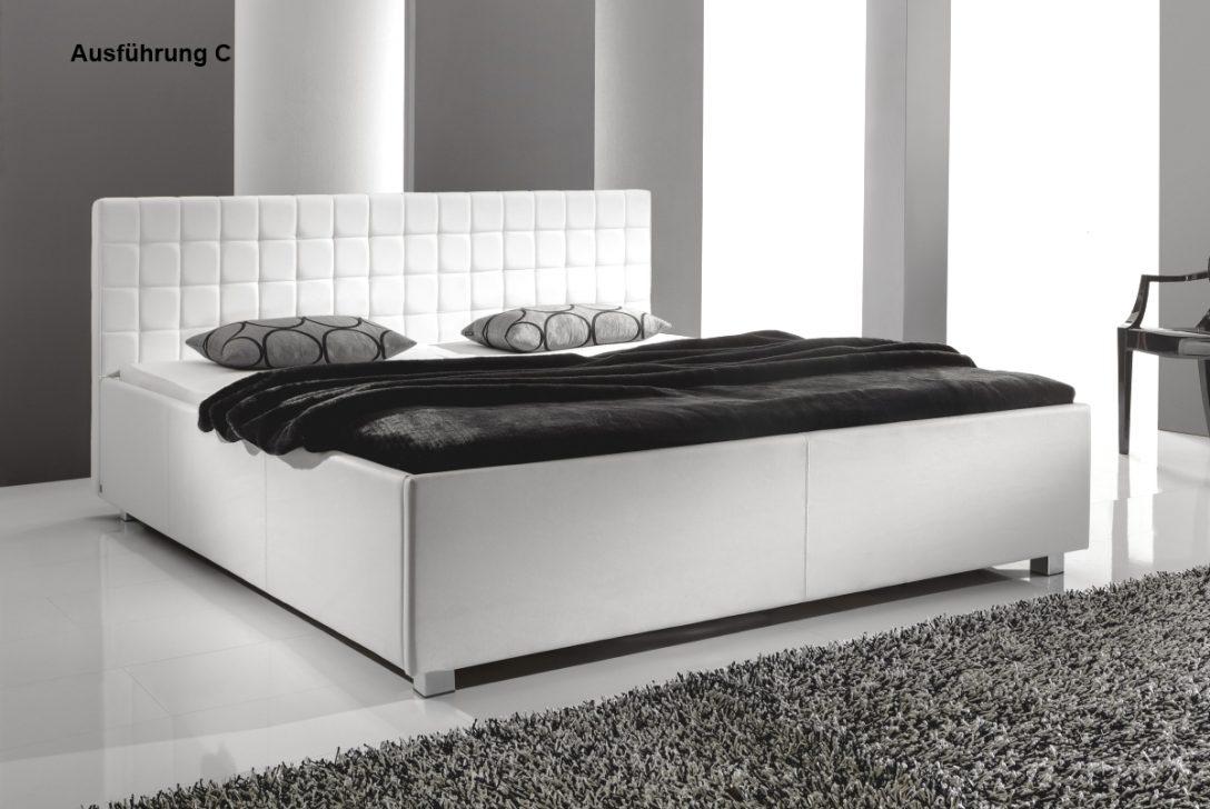 Large Size of Bett Schwarz Weiß Designer Lederbett Polsterbett Weiss 3 Verschiedene Kopfteile 140x200 Mit Gepolstertem Kopfteil Weißes 90x200 Betten Für übergewichtige Bett Bett Schwarz Weiß