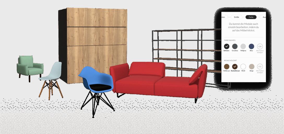 Large Size of Sofa Konfigurator Modularer 3d Produkt Fr Ihren Ecommerce Erfolg Roomle Rundes Modulares Für Esszimmer 3 2 1 Sitzer Big Kaufen Abnehmbarer Bezug Halbrund Sofa Sofa Konfigurator