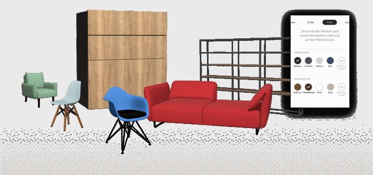 Medium Size of Sofa Konfigurator Modularer 3d Produkt Fr Ihren Ecommerce Erfolg Roomle Rundes Modulares Für Esszimmer 3 2 1 Sitzer Big Kaufen Abnehmbarer Bezug Halbrund Sofa Sofa Konfigurator