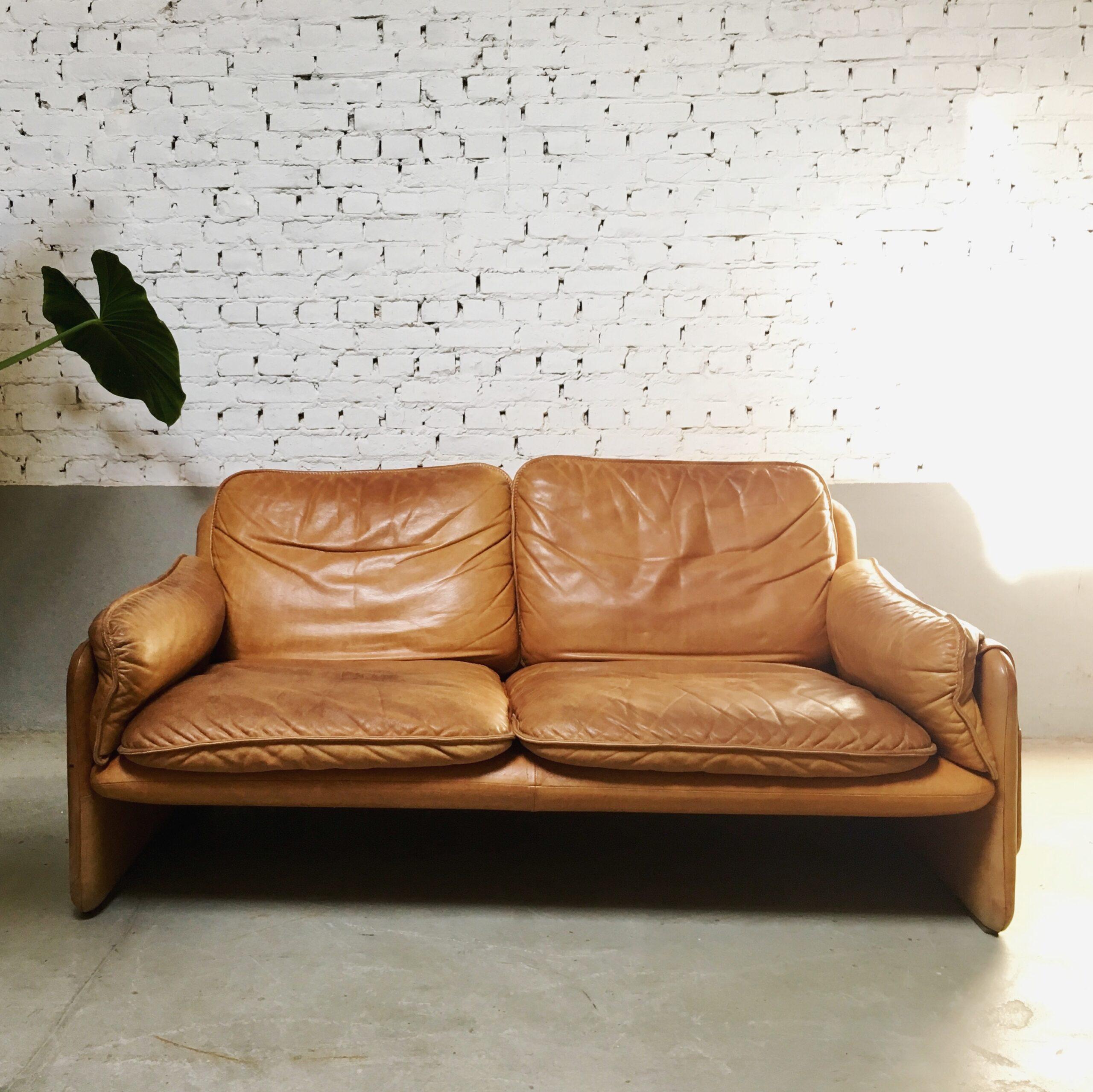 Full Size of De Sede Ds 61 Twoseater Sofa In Cognac Leather 115999 Cassina Auf Raten Copperfield Zweisitzer Machalke Chesterfield Gebraucht Modulares Beziehen Liege Sofa Sofa Cognac