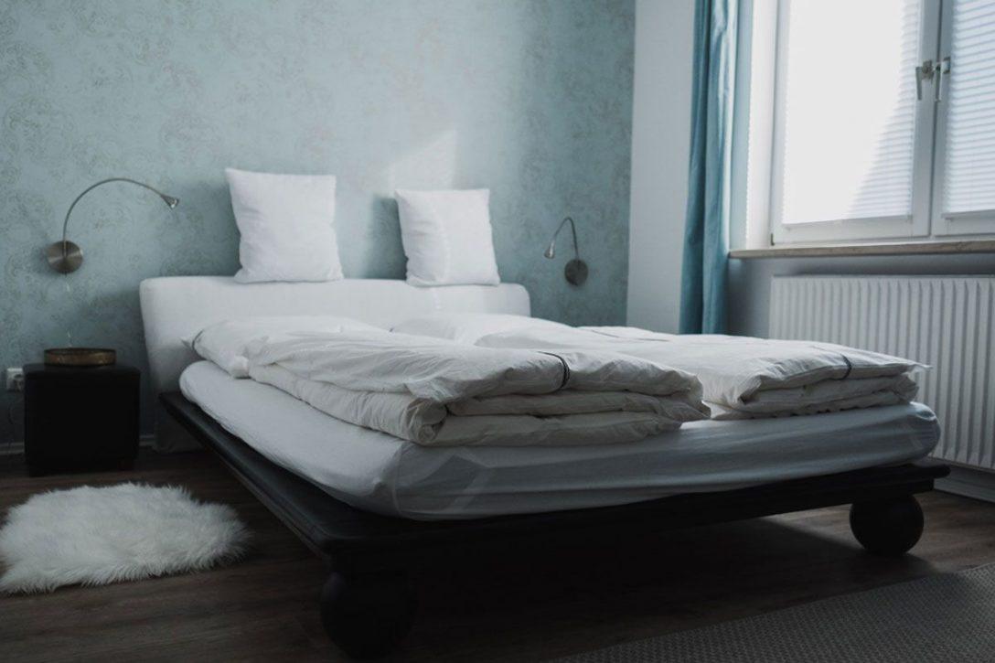 Large Size of Ferienhaus Fritzbokleines Schlafzimmer Mit Bett 140 200 Hohes Matratze Und Lattenrost 140x200 220 X Flach Team 7 Betten Weiße Hamburg 90x200 Günstige Xxl Bett Bett 1.40
