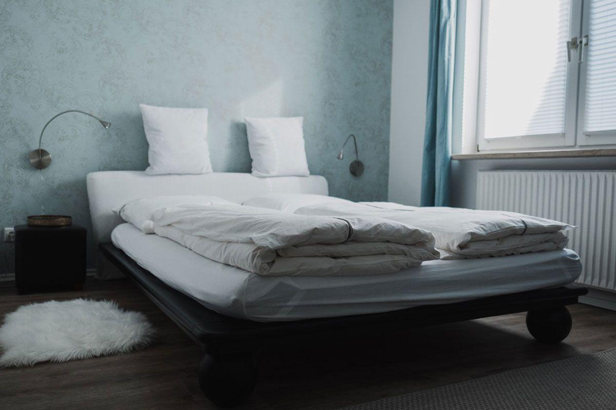 Full Size of Ferienhaus Fritzbokleines Schlafzimmer Mit Bett 140 200 Hohes Matratze Und Lattenrost 140x200 220 X Flach Team 7 Betten Weiße Hamburg 90x200 Günstige Xxl Bett Bett 1.40