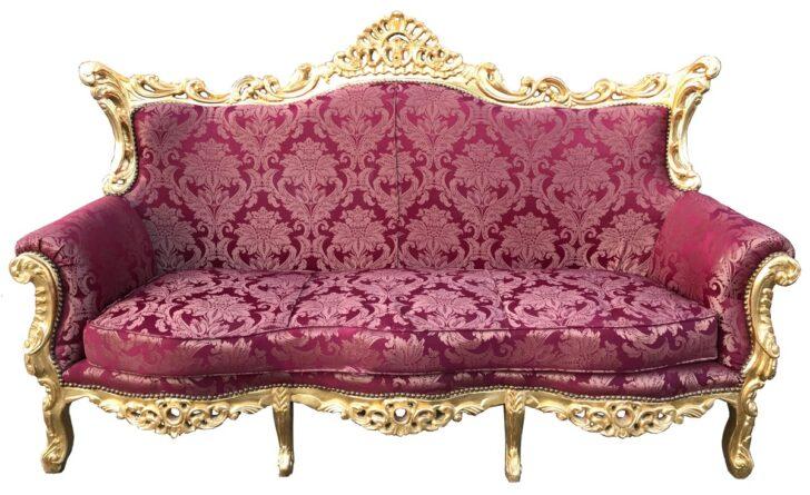 Medium Size of Sofa Barock Style Barockstil Stil Gebraucht Kaufen Sofas Baroque Set Braun Schwarz Silber Gold Blau Grau Casa Padrino 3er Bordeaurot Muster Big Poco Ebay Sofa Sofa Barock
