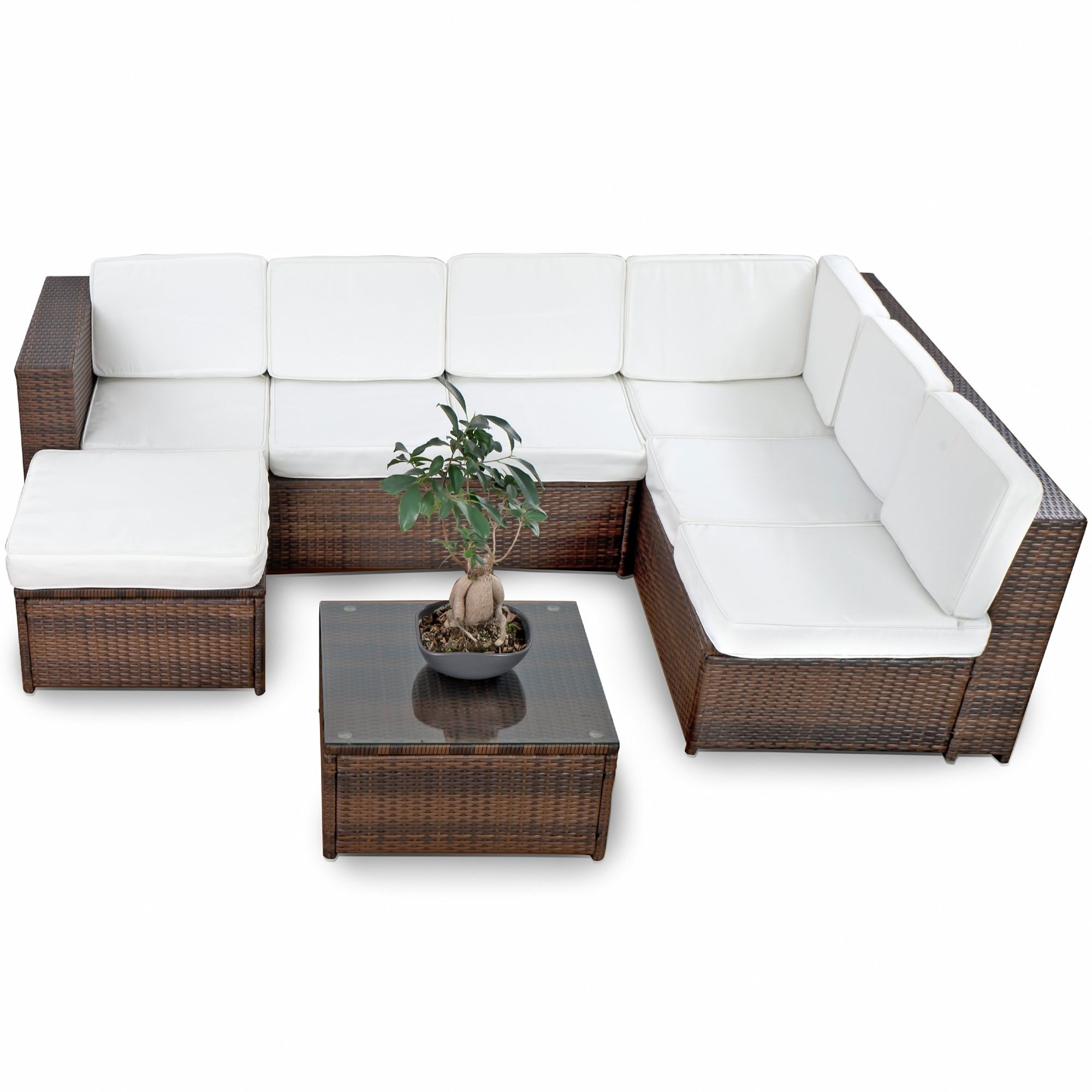Full Size of Lounge Sofa Polyrattan Outdoor Couch Ausziehbar 2 Sitzer Gartensofa Rattan Garden Set Grau 2 Sitzer Balkon Tchibo Xinro 19tlg Xxxl Gartenmbel Gnstig Esstisch Sofa Polyrattan Sofa