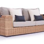 Polyrattan Sofa Lounge Couch Grau Tchibo Rattan Outdoor Gartensofa Set Garden 2 Sitzer Balkon Ausziehbar 2 Sitzer Molly 235 Cm Living Zone Gartenmbel U Form Sofa Polyrattan Sofa