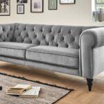 Couch 3 Sitzer Grau Ikea Sofa Leder Louisiana (3 Sitzer Mit Polster Grau) 3 Sitzer Nino Schwarz/grau Schlaffunktion Samt 2 Und Rattan Retro Kingsley Sofa Sofa 3 Sitzer Grau