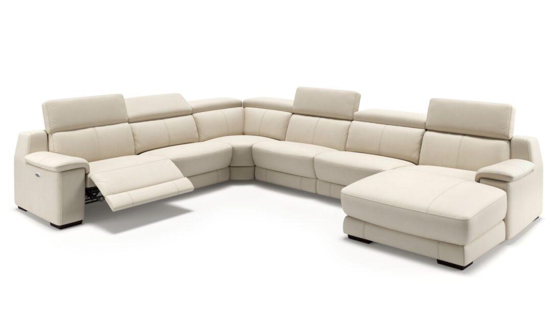 xxl sofa u form leder big couch grau sam schwarz