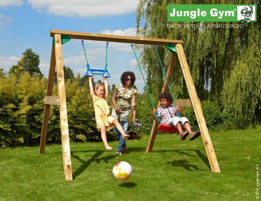 Large Size of Schaukel Für Garten Jungle Gym Swing Xl Holz Heider Lounge Sessel Set Ausziehtisch Holzhaus Gardinen Wohnzimmer Wasserbrunnen Mein Schöner Abo Boden Garten Schaukel Für Garten