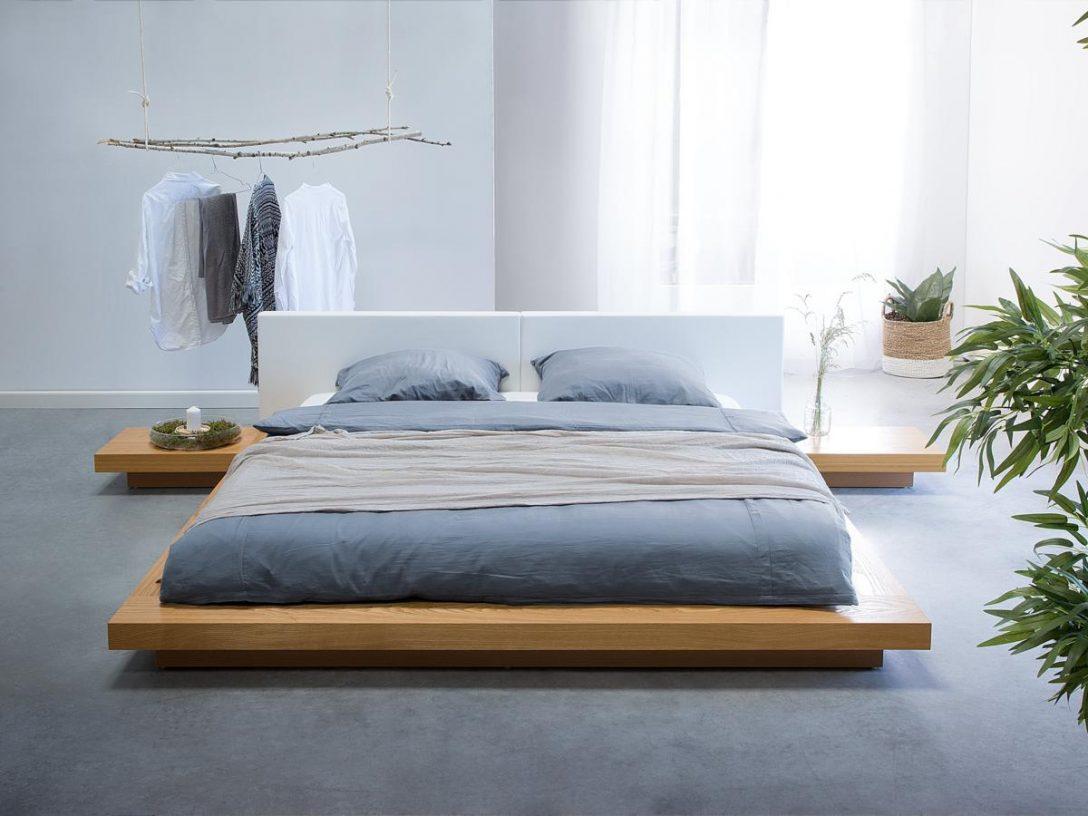 Large Size of Bett Mit Lattenrost 120x200 180x200 140x200 Und Matratze 160x200 90x200 Japanisches Designer Holz Japan Style Japanischer Stil Podest Weißes Metall Schrank Bett Bett Mit Lattenrost