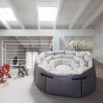 Rundes Sofa Sofa Rundes Sofa Modern Stoff Leder Micama Antidiva Wohnlandschaft Chesterfield Mit Schlaffunktion Federkern Big Braun Schilling Holzfüßen Marken Kaufen Günstig