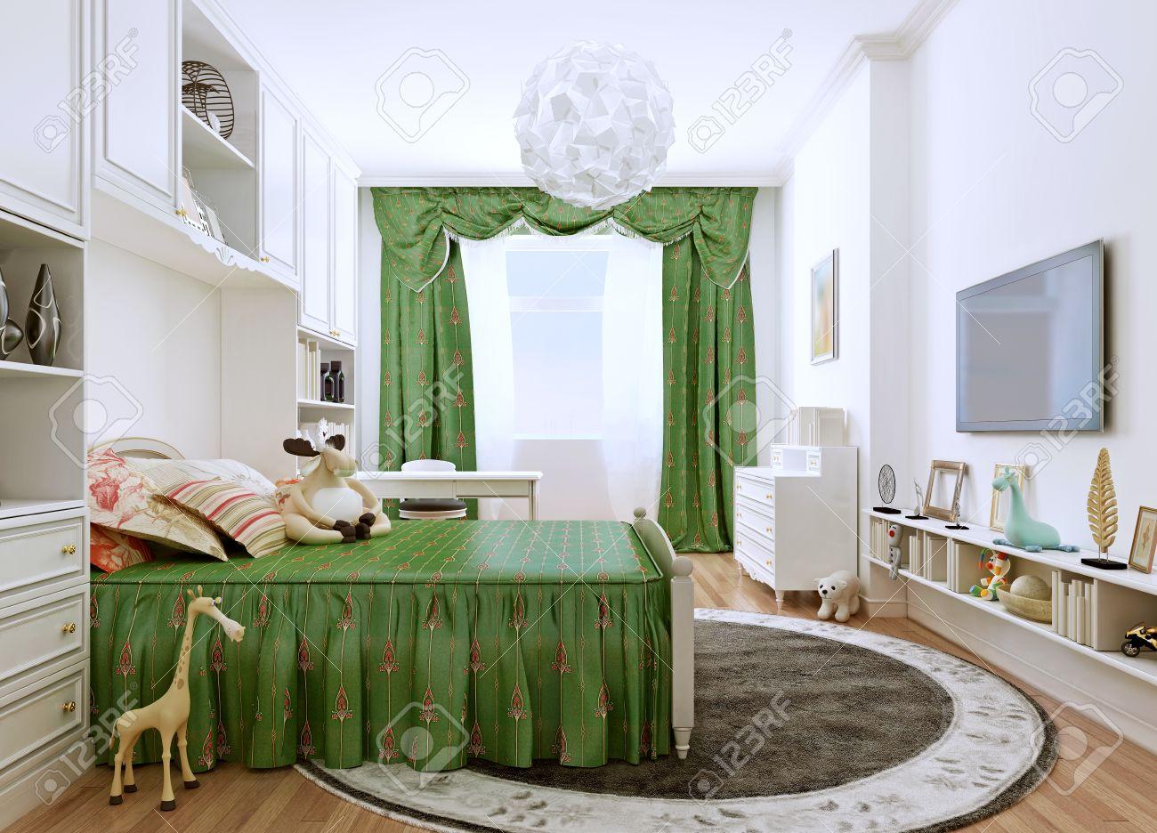 Full Size of Und Jugendzimmer Im Klassischen Stil Gerumiges Zimmer In Bett Eiche Sonoma Betten 200x220 Such Frau Fürs Bock Stauraum 200x200 Bette Duschwanne Günstige Tojo Bett Jugendzimmer Bett