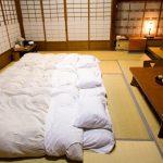 Japanisches Bett Traditionell Schlafen Auf Einem Futon Landhausstil Schramm Betten Wand Mit Matratze 200x200 Bettkasten Bopita Balken Mädchen Schubladen Bett Tatami Bett