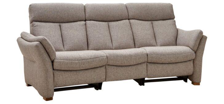 Medium Size of 3 Sitzer Sofa Mit Relaxfunktion Trapezsofa Global Coruna In Beige Schilling Eckküche Elektrogeräten Hannover Badewanne Tür Und Dusche Bett 160x200 Sofa 3 Sitzer Sofa Mit Relaxfunktion