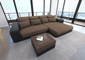 Big Sofa Mit Hocker