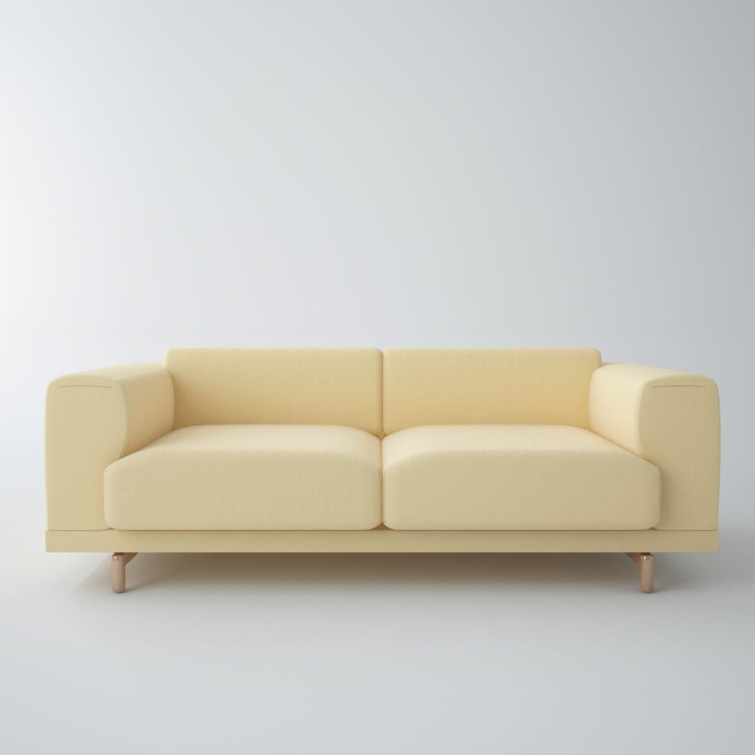Large Size of Muuto Sofabord Eg Airy Dba Cecilie Manz Connect Sofa Dimensions Furniture Outline 3 1/2 Rest Klein 3d Modell Turbosquid 1182237 Auf Raten Blau Recamiere U Form Sofa Muuto Sofa