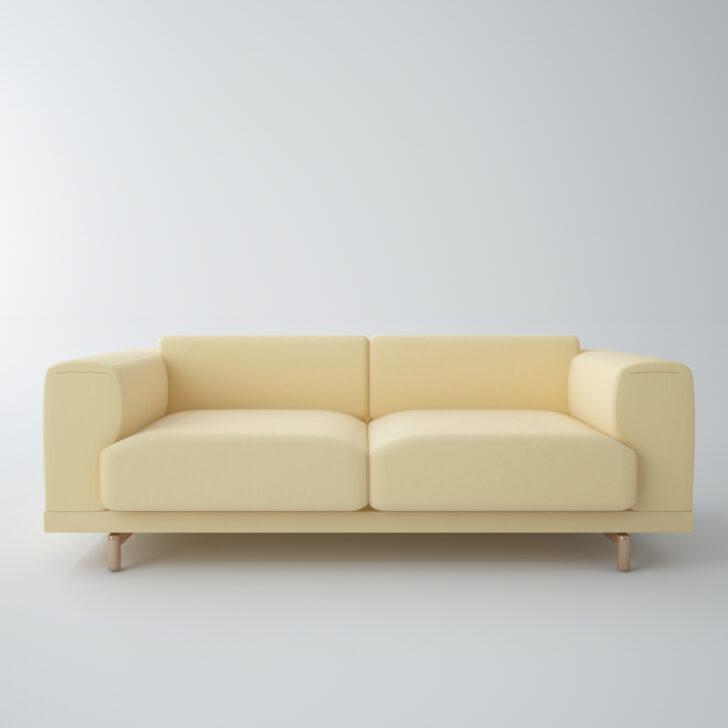 Medium Size of Muuto Sofabord Eg Airy Dba Cecilie Manz Connect Sofa Dimensions Furniture Outline 3 1/2 Rest Klein 3d Modell Turbosquid 1182237 Auf Raten Blau Recamiere U Form Sofa Muuto Sofa