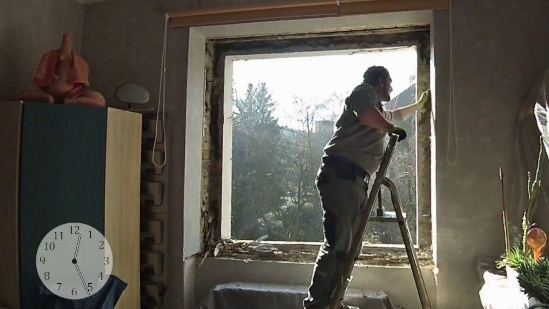 Large Size of Neue Fenster Einbauen Kompletter Fenstertausch In 2 Einbruchsicherung Weihnachtsbeleuchtung Rollo Konfigurator Drutex Klebefolie Dreifachverglasung Jalousien Fenster Neue Fenster Einbauen